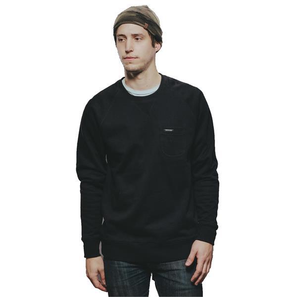 Holden Layering Crew Sweatshirt Black U.S.A. & Canada