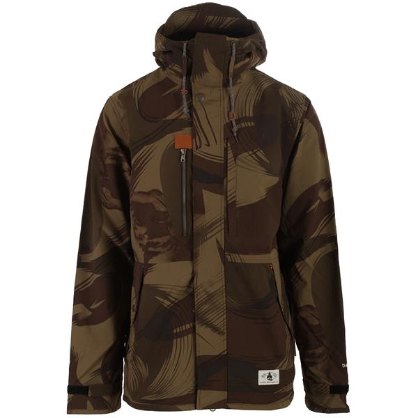 The Karbon Men's Mckinley Ski Jacket will keep you warm in the worst conditions. It is made out of the highly breathable and waterproof Hydrostretch Pro 3 Ply with Karbonite, that gives it the perfect amount of stretch to move with you.
