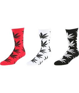 Huf Essentials Plantlife 3 Pack Socks