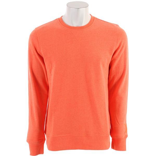 Hurley Brights Crew Sweatshirt Heather Neon Orange U.S.A. & Canada