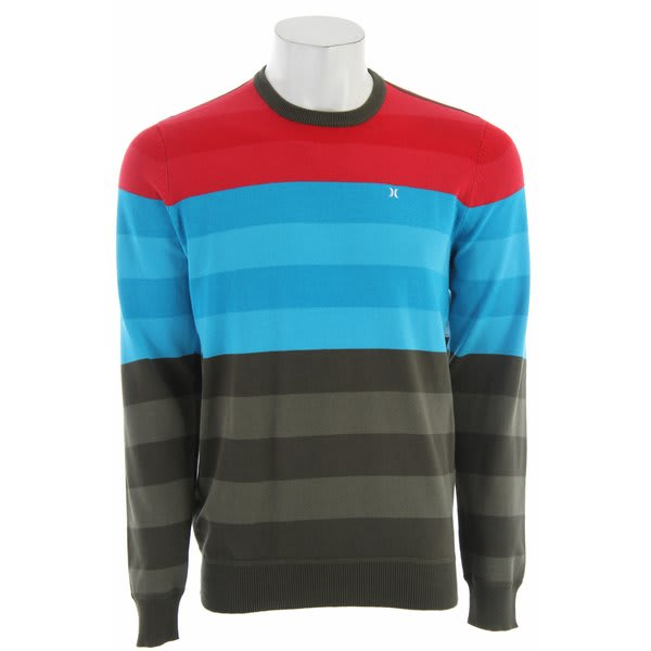 Hurley Engine Sweater Cyan U.S.A. & Canada