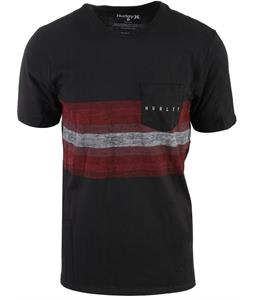 Hurley Hanging Stripe Pocket T-Shirt
