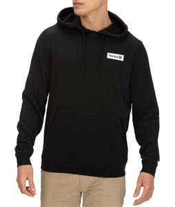 Hurley One & Only Boxed Flashback Pullover Hoodie Black