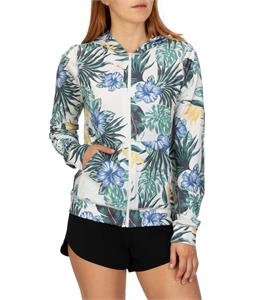 Hurley One & Only Lanai Hooded Zip Rashguard