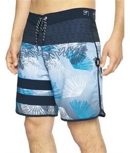 Hurley Phantom Block Party Sig Zane Wailehua 18in Boardshorts
