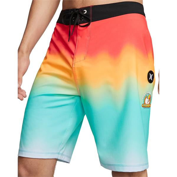 Bright Crimson Hurley Puerto Rico Boardshorts New
