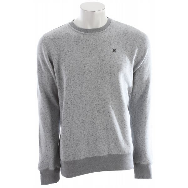 Hurley Retreat Crew Sweatshirt Heather Ash Grey U.S.A. & Canada