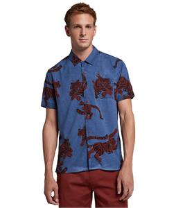 Hurley Tiger Short Sleeve Button Up Shirt