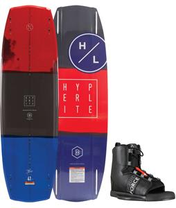 Hyperlite Baseline Blem Wakeboard w/ Liquid Force Element Wakeboard Bindings