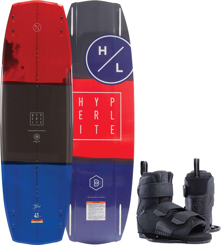 Hyperlite Baseline Wakeboard W Formula Bindings 2019