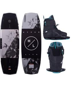 Hyperlite Baseline Wakeboard w/ Session Bindings