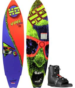 Hyperlite HyperPro Wakeboard w/ Liquid Force Element Wakeboard Bindings