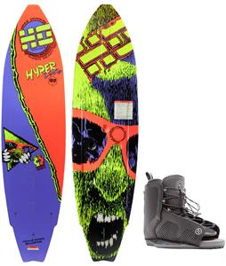 Hyperlite HyperPro Wakeboard w/ Hyperlite Remix Bindings