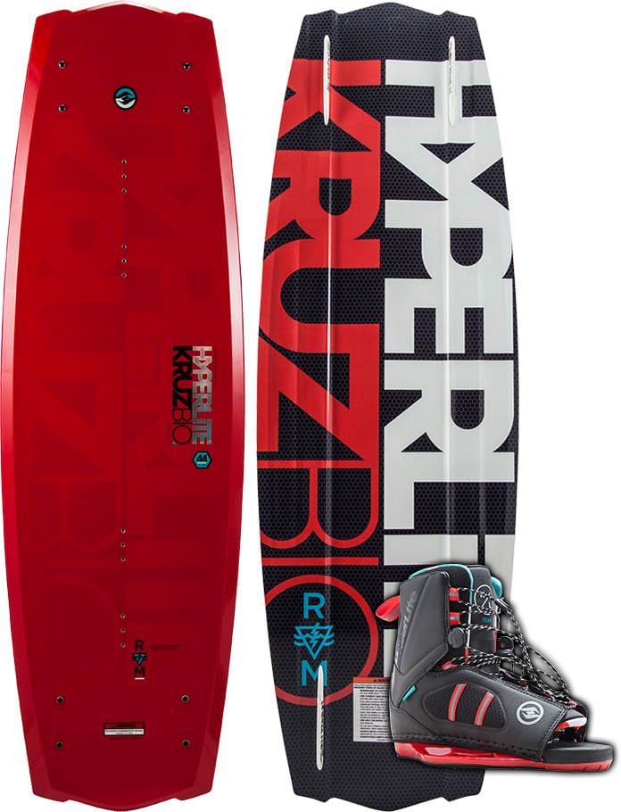 Hyperlite Kruz Bio Wakeboard W Team Ot Bindings 2018