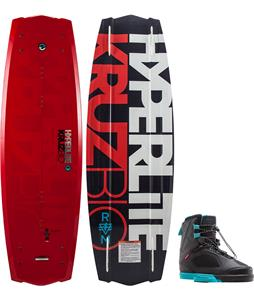 Hyperlite Kruz BIO Wakeboard w/ Team X Bindings