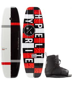 Hyperlite Motive Jr. Wakeboard w/ Remix Kid's Bindings