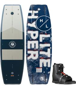 Hyperlite Source Wakeboard w/ Liquid Force Element Wakeboard Bindings