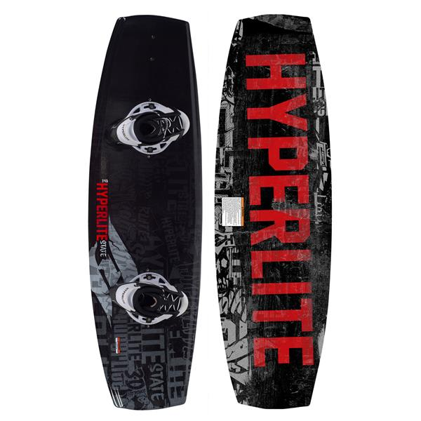 Hyperlite State Wakeboard 135 W / Remix Boots U.S.A. & Canada