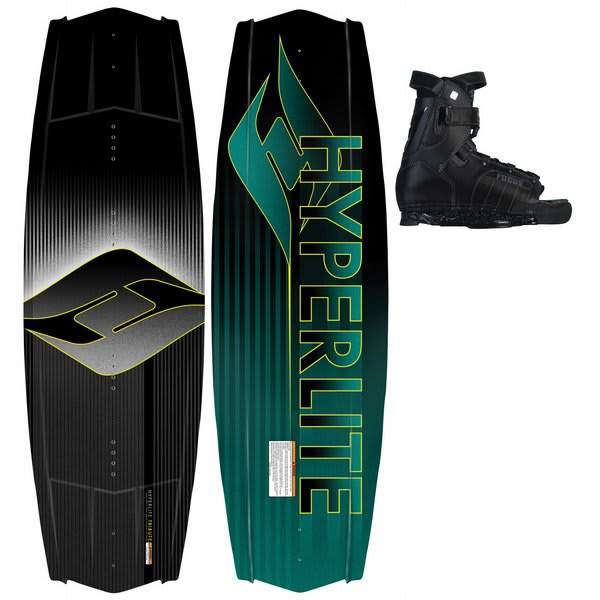 Hyperlite Tribute Wakeboard 142 W / Focus Bindings U.S.A. & Canada