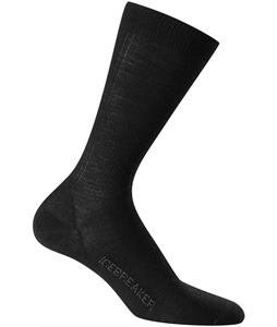 Icebreaker Lifestyle Crew Ultralight Cushion Socks