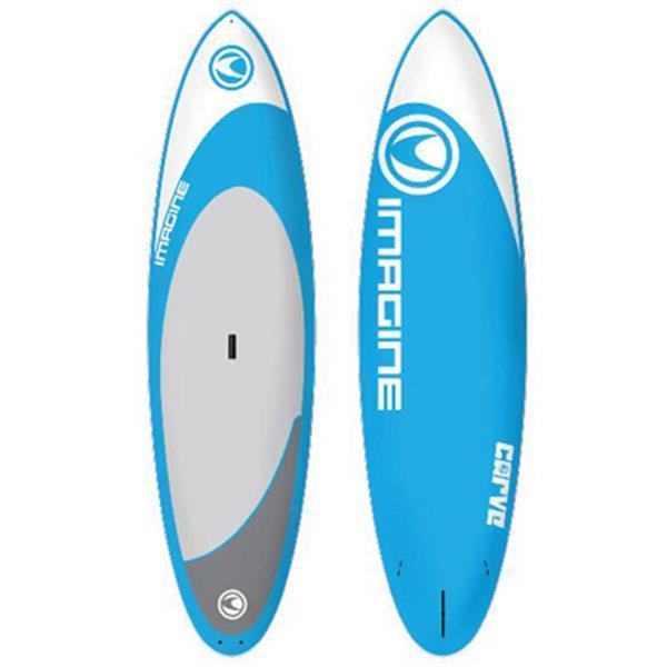 Imagine Carve Sup Paddleboard Blue 10Ft X 6In U.S.A. & Canada