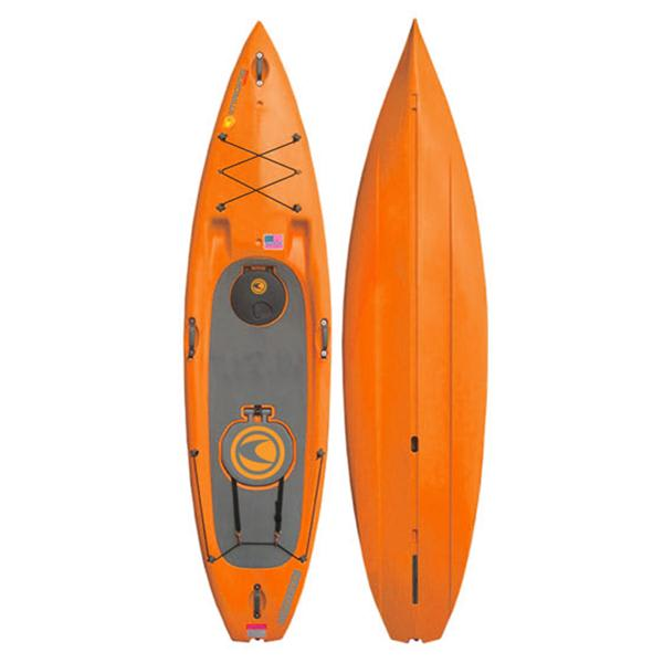 Imagine Speeder Sup Paddleboard Orange 11Ft X 30In U.S.A. & Canada