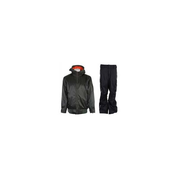 Vans Dtl Bomber Jacket Installation Green W / Burton Fife Pants True Black U.S.A. & Canada