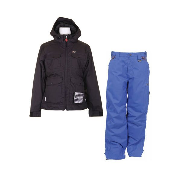 Foursquare Angela Jacket Black W / Foursquare Sammoff Pants Black Small Toof U.S.A. & Canada