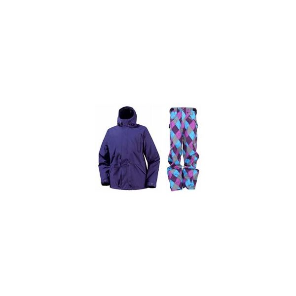 Burton Hood Jacket Sizzurp W / Special Blend Annex Pants Gnargyle U.S.A. & Canada