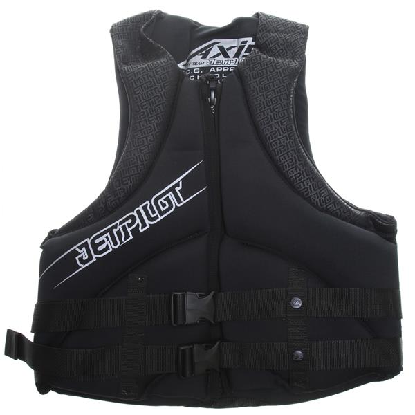 Jet Pilot Axis Neo Wakeboard Vest Black U.S.A. & Canada