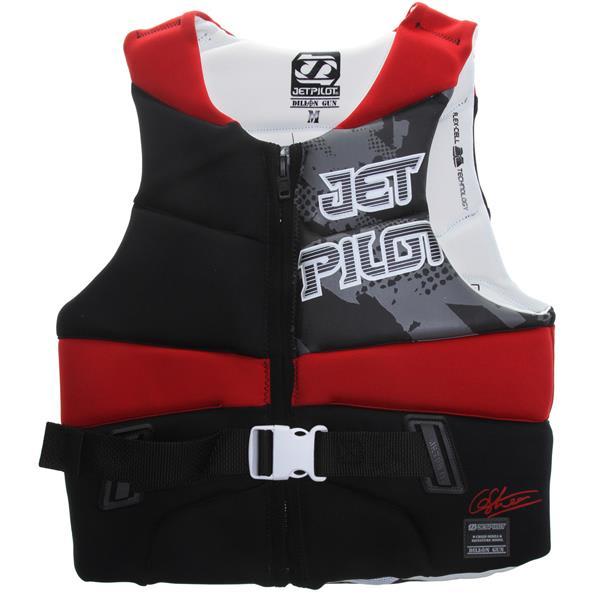Jet Pilot Dillon Gun Comp Wakeboard Vest Red U.S.A. & Canada