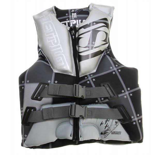 Jet Pilot Murray Neo Wakeboard Vest Silver U.S.A. & Canada