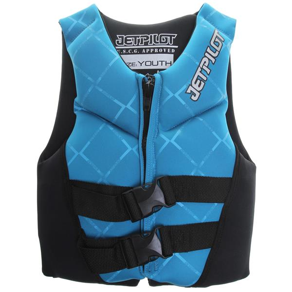 Jet Pilot Neo Wakeboard Vest Blue Youth U.S.A. & Canada