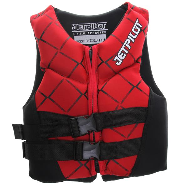 Jet Pilot Neo Wakeboard Vest Red Youth U.S.A. & Canada