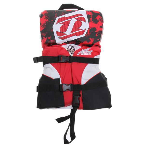 Jet Pilot Pistol Wakeboard Vest Red Infant U.S.A. & Canada