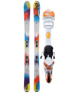 K2 Superstitious Skis w/ Marker ERS 11.0 TC Bindings