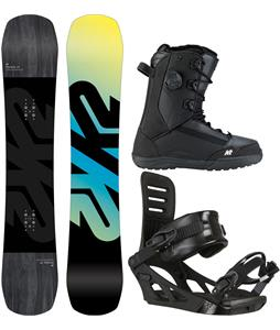 K2 Afterblack Snowboard Package