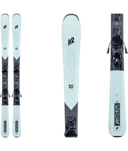 K2 Anthem 75 Skis w/ ERP 10 Quikclik Bindings