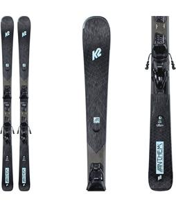 K2 Anthem 76 Skis w/ ERP 10 Quikclik Bindings