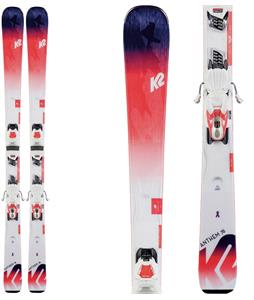 K2 Anthem 76 Skis w/ Marker ERP 10 Quikclick Bindings