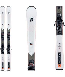 K2 Anthem 76X Skis w/ ER3 10 Compact Quikclik Bindings