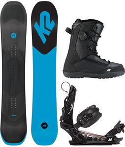 K2 Broadcast Snowboard Package