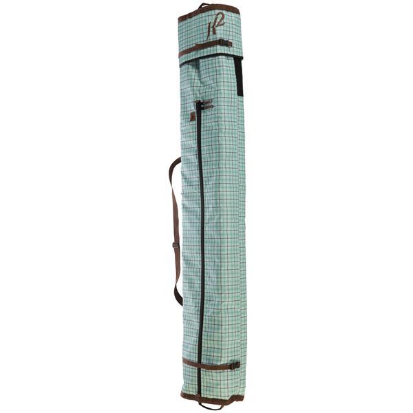 2 Deluxe Double Ski Bag Green 180 200Cm U.S.A. & Canada