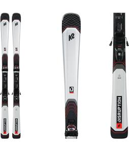 K2 Disruption 76X Skis w/ M3 10 Compact Quikclik Bindings