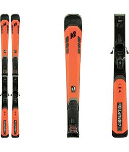 K2 Disruption 78C Skis w/ M3 10 Compact Quikclik Bindings