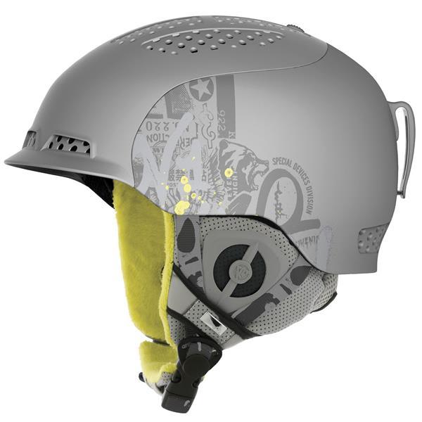 2 Diversion Ski Helmet Grey U.S.A. & Canada