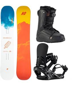 K2 Dreamsicle Snowboard Package