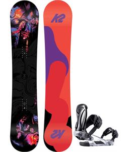 K2 First Lite Snowboard w/ Ride KS Bindings