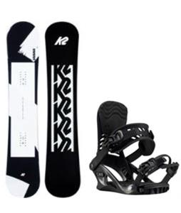 K2 First Lite Snowboard w/ Cassette Bindings