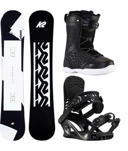 K2 First Lite Snowboard Package